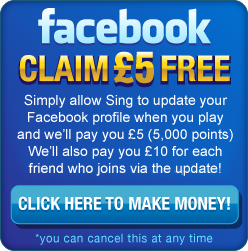 Sing Bingo On Facebook